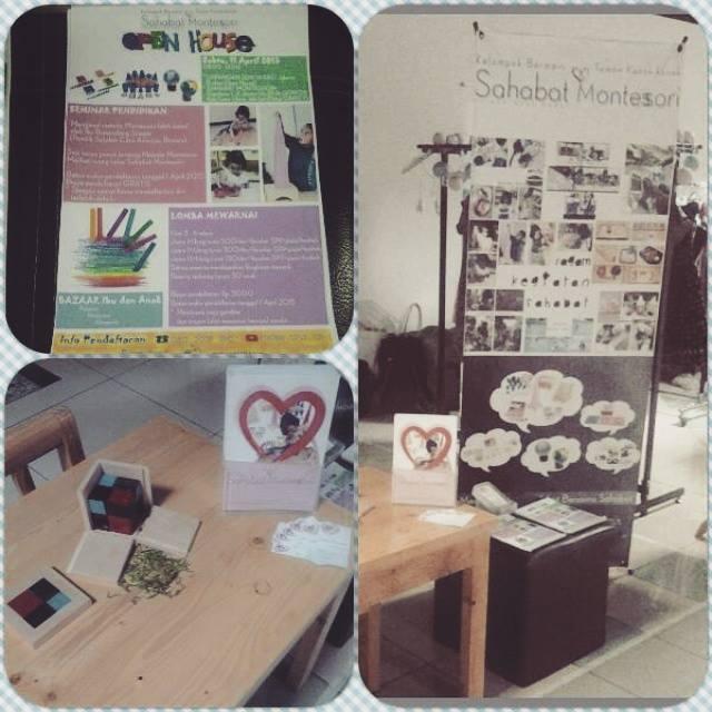 Pagi sahabaters, hari ini Sahabat Montessori ada di area bazaar lantai 6 Blok M Plasa, kita juga men...