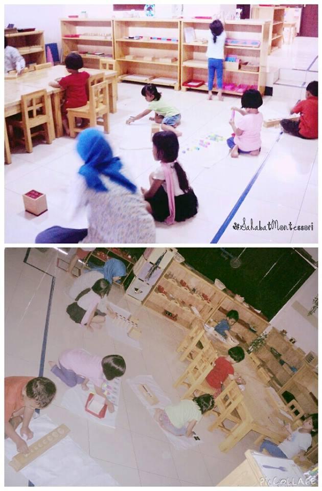 Suka banget liat foto ini!! Melihat anak anak dengan tenang dan konsentrasi mengerjakan alat (pelaja...